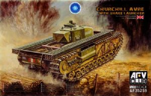 AF35259  Churchill AVRE with Snake Launcher